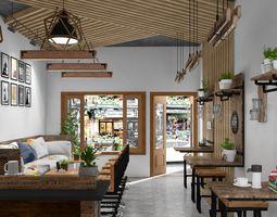 cafe Cafe Interior 3D model