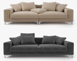 Busnelli Take It Easy Sofa 3D Model