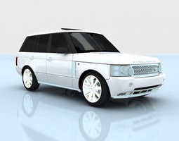 3D Range Rover Supercharged 2009