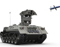 3D model TUA Cazador