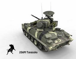 3D 2S6M Tunguska