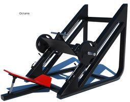 Leg Press Machine - Octane and Mental ray 3D model