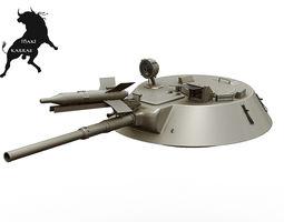 3d model turret for bmp-1 with sagger missile