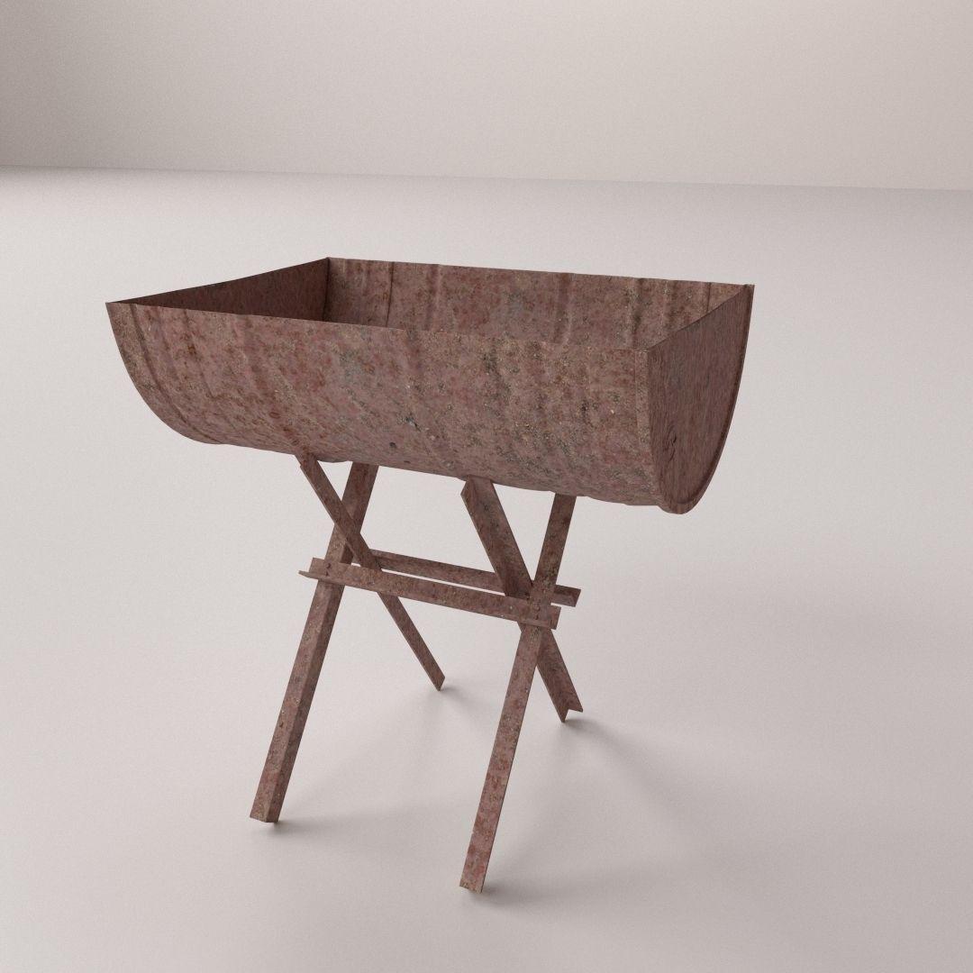 Afbeeldingsresultaat voor BBQ drum 3D Model