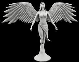 statue of angel 3d model