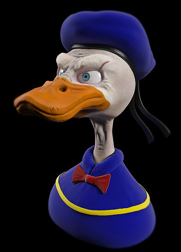 Buy And Sell Apps >> human 3D model Donald Duck   CGTrader