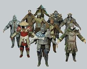 3D model Dark Fantasy Protagonist Pack