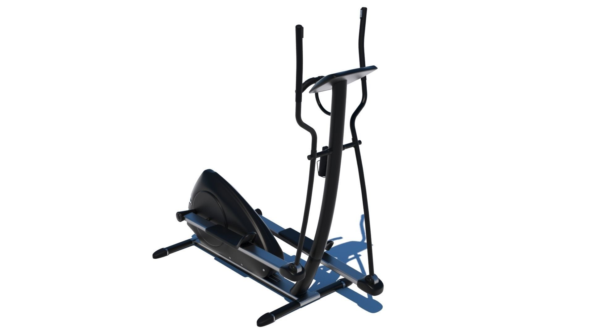 Gym Elliptical Machine - Octane and Mental Ray
