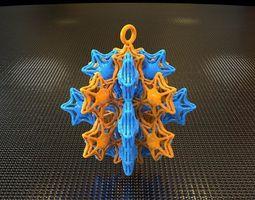x-mas xxx6starfish gifts 3d printable model