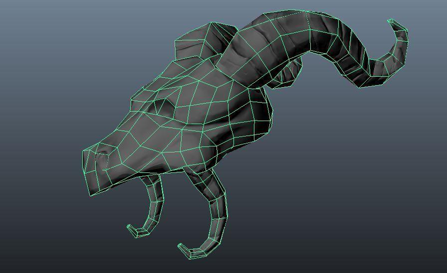 Dragon Skull 3d Model 3d Printable Stl Cgtrader Com