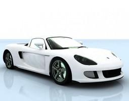 Porsche Carrera GT 3D