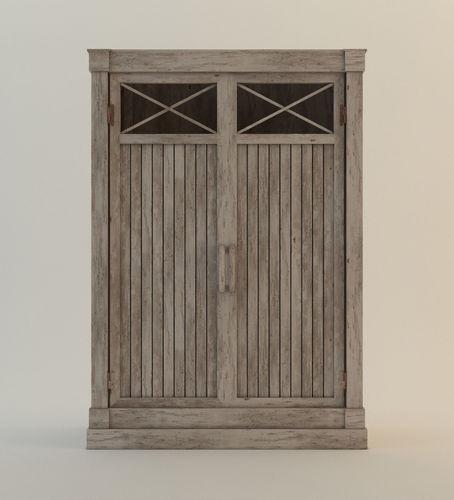 Delicieux Driftwood Cabinet 3D Model
