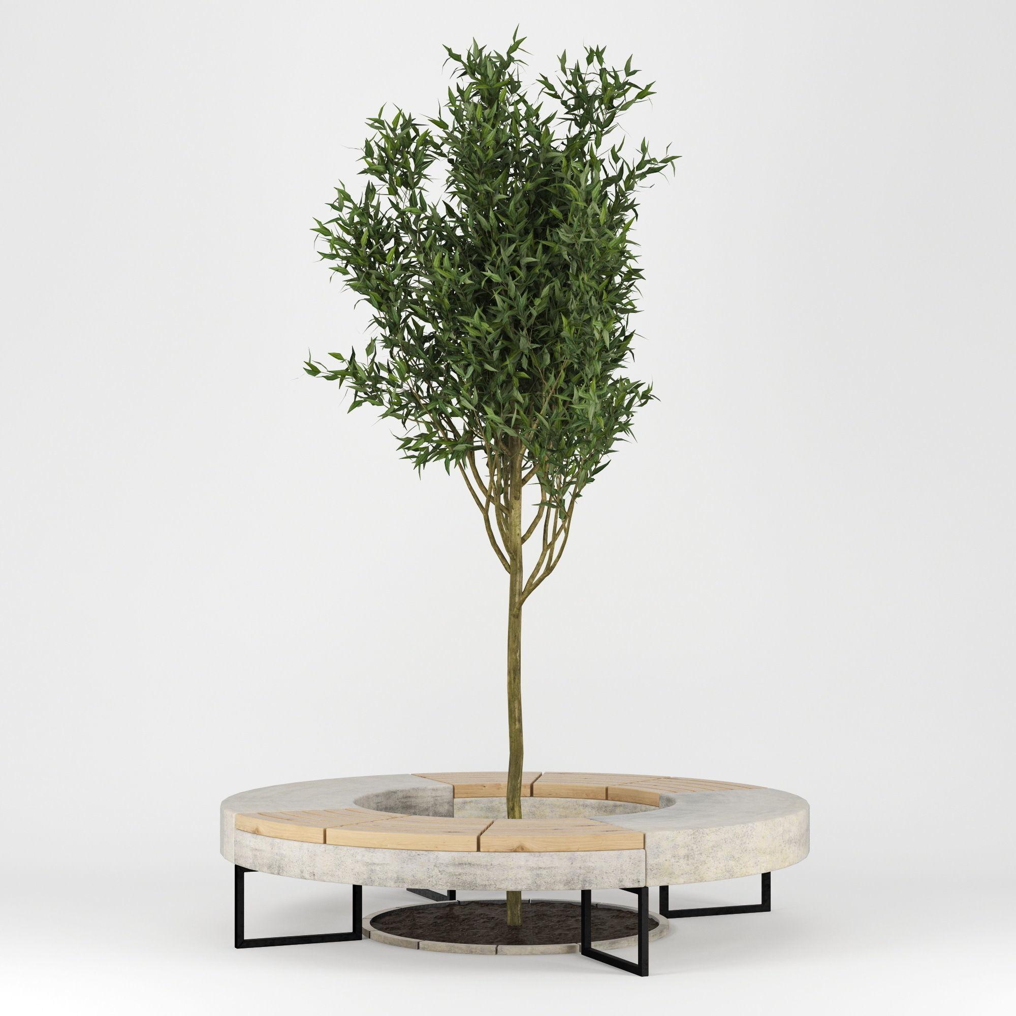 Tree Flowerbed