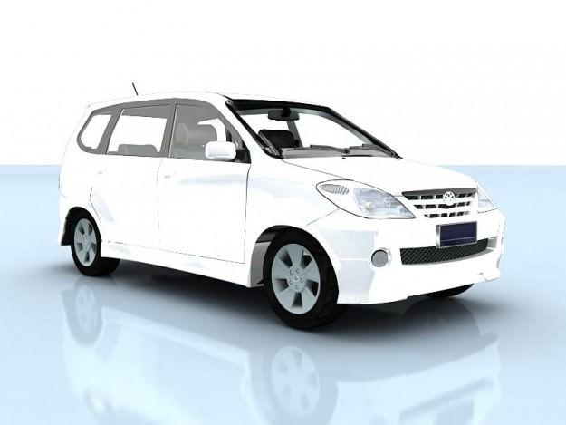 Toyota Avanza3D model