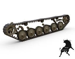 BMP-2 Tracks 3D Model