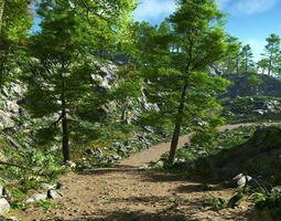 Rough path in Vue 3D