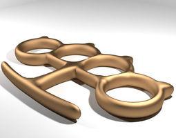 Brass Knuckle - Type 2 3D model