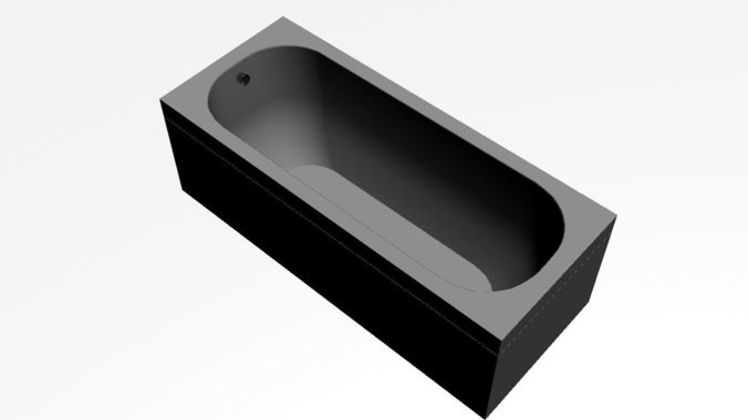 bath2 3d model low-poly max 1