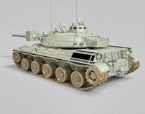 animated AMX-30 3D model