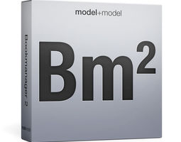3D model Bookmanager 2 script
