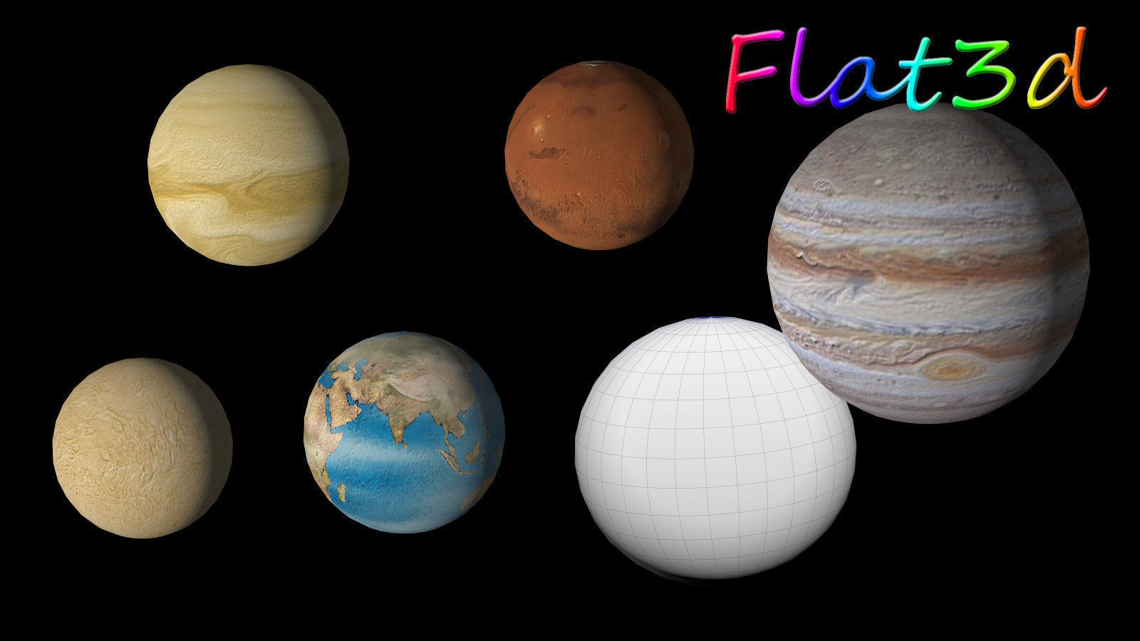 space and planets models-#6