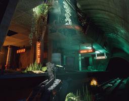 3D asset Metro 15 - Environment Pack