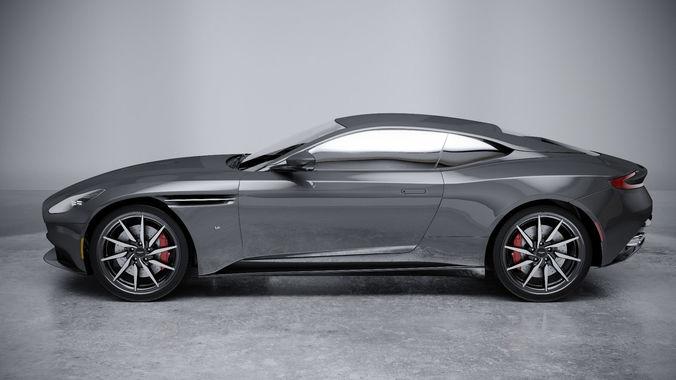 3d Model Aston Martin Db11 V12 2018 Cgtrader