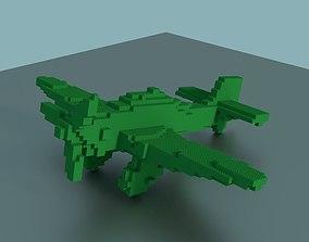 3D print model Lego Plane