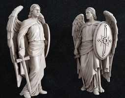 3D print model Archangel Michael icon