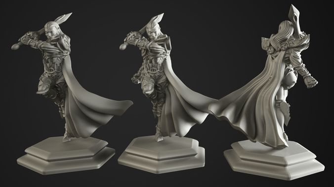 the lord of the elves 3d model stl 1