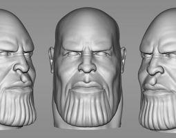 Thanos STL 3d model for 3d printing 3D print model 3D 1