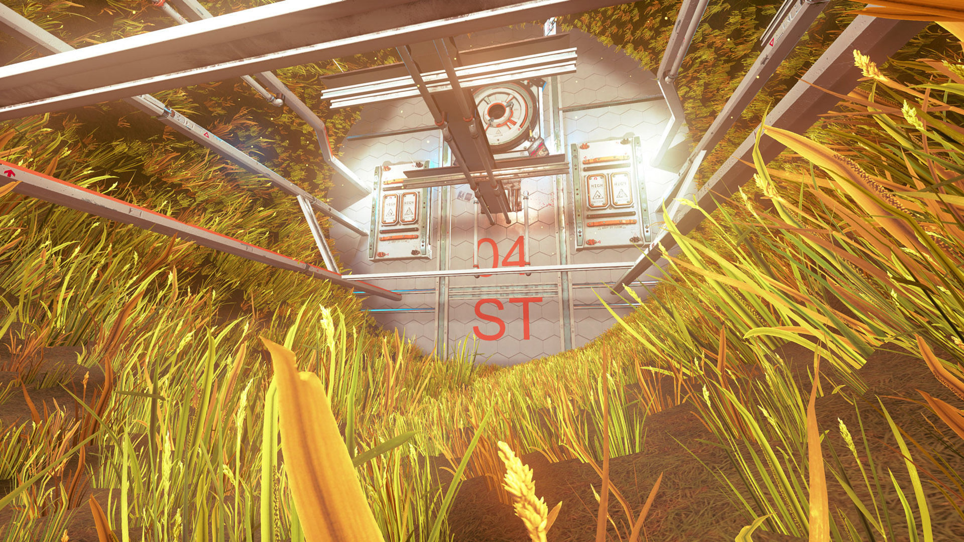 Pro-TEK SciFi VR Space Station - Unreal - Unity - | 3D model