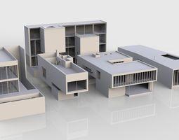 3D asset SFDEMIR Modern Building Collection