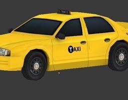 Taxi Van 3D model