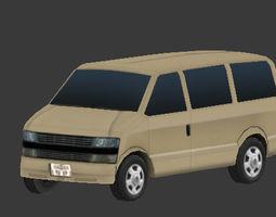 3D model Passenger Van