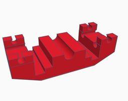 3D print model Zeller rollerstand cleaner trolley H0