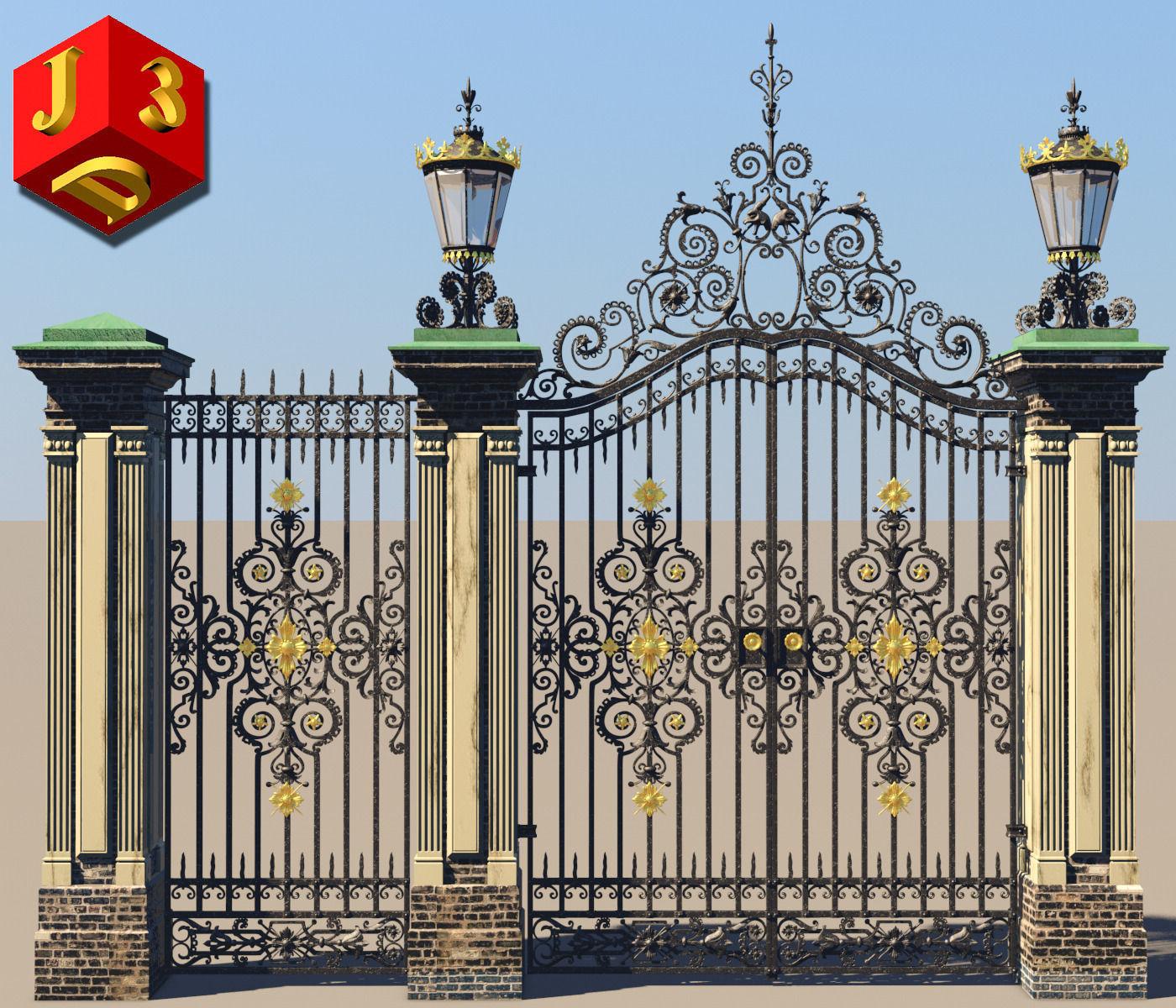 Antique gate-3