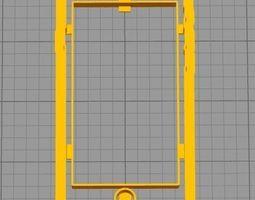 Cookie Cutter Phone Cell Cellphone 3D print model