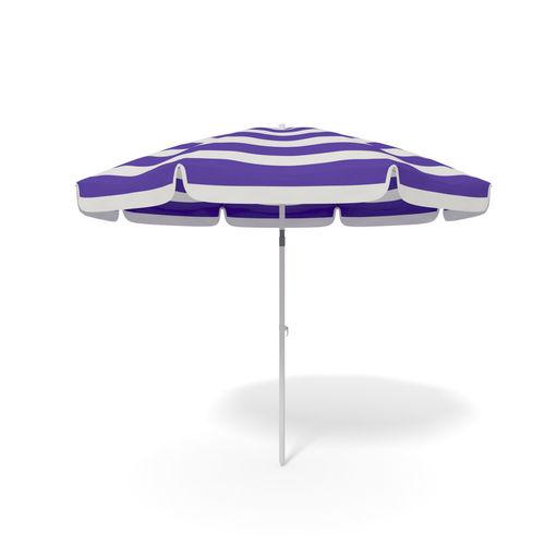 beach parasol - umbrella  3d model obj mtl 3ds fbx blend dae 1