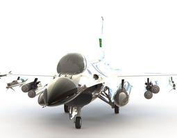 F-16 Fighting Falcon 3D