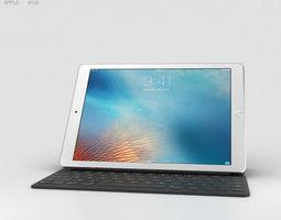Apple iPad Pro 9-7-inch Silver 3D