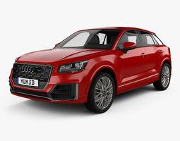 crossover 3D model Audi Q2 S-Line 2017