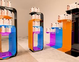 3D stand show cosmatic