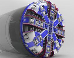 3D TBM detailed model