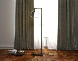3D model Montecito Floor Lamp