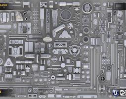Industrial Kitbash Collection 3D asset
