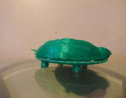 Turtle Soap Dish 3D print model