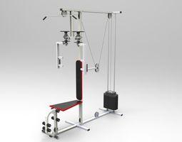3D model Sport multi-function device