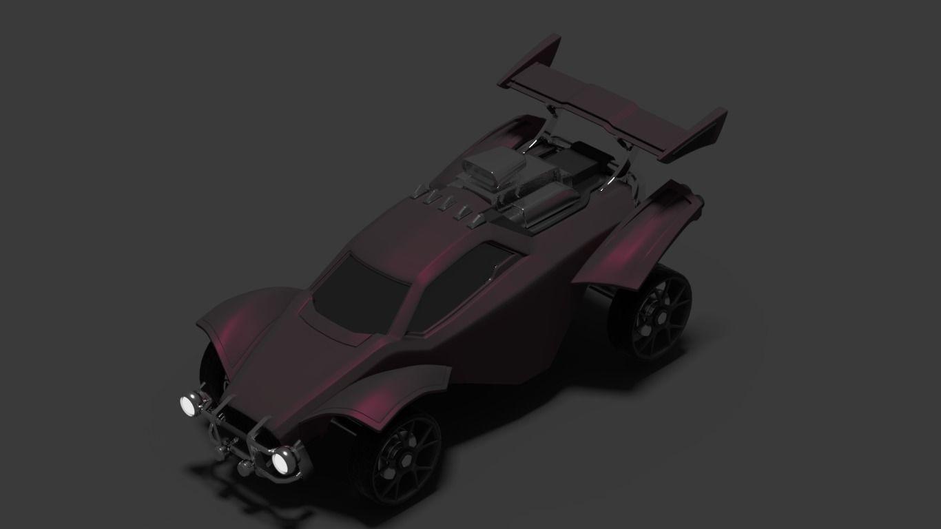 Octane - Rocket League league 3D model | CGTrader