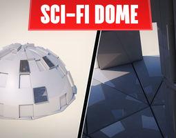 3D model SCI-FI DOME